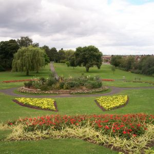 photo two of the gardens in the park