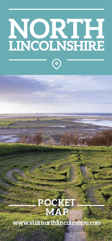 Julians Bower front page of North Lincolnshire Pocket Map 2019